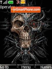 Skulls tema screenshot