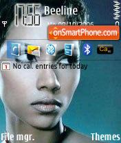Halle Berry theme screenshot