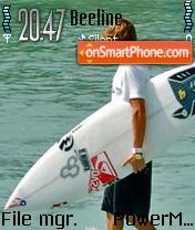 Surf Up theme screenshot