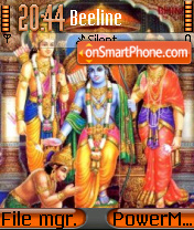 Sri Raam theme screenshot