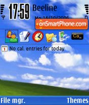 I Candy Refresh Xp theme screenshot