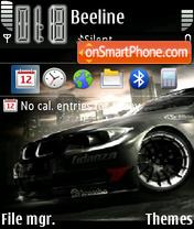 Grid Car theme screenshot