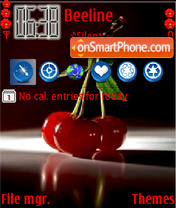Cherry 11 theme screenshot