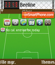 Football 07 theme screenshot