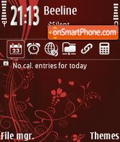 Скриншот темы Red 09