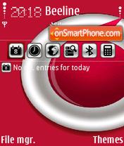 Скриншот темы Vodafone Sunnyl