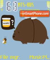 Honey Bear es el tema de pantalla