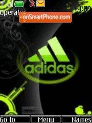 Adidas tema screenshot