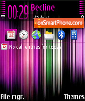 Colourise theme screenshot