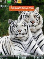Скриншот темы White Tiger