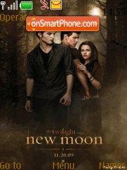Twilighi New moon es el tema de pantalla