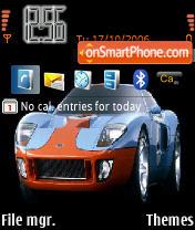 Ford GT theme screenshot