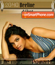 Deepika Padukone 03 theme screenshot