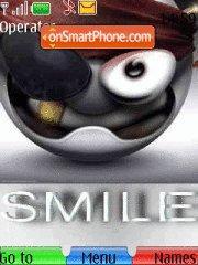Smile es el tema de pantalla