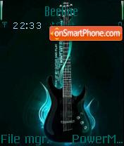 Guitar 04 es el tema de pantalla