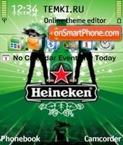 Heineken Clubbing theme screenshot