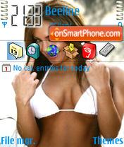 Bikini Babe 04 theme screenshot