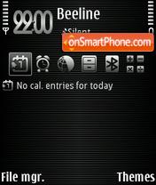 Three 01 theme screenshot