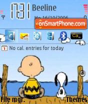 Snoopy theme screenshot