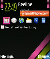S60 Theme exclusive theme screenshot