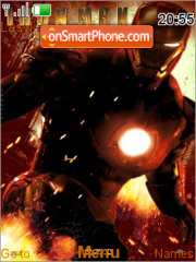 Iron man 2 theme screenshot