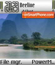 Scenery Lake es el tema de pantalla