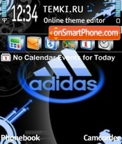 Adidas 32 theme screenshot