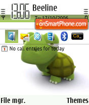 Turtle theme screenshot