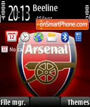 Arsenal 10 theme screenshot