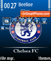 Chelsea fc 04 theme screenshot