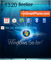Скриншот темы Windows 7 Fp1