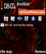 Red Petals V2 default theme screenshot