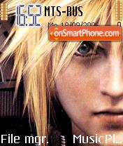 Final Fantasy AC theme screenshot
