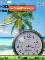 Tropics tema screenshot