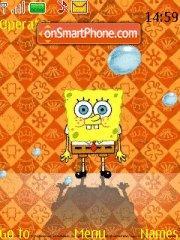 Spongebob squarepants es el tema de pantalla