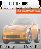 Corvette es el tema de pantalla