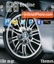 BMW M3 CSL theme screenshot