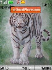 White tiger tema screenshot