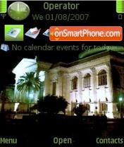 Скриншот темы Teatro Massimo