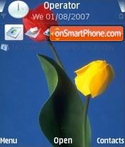 Tulipani es el tema de pantalla