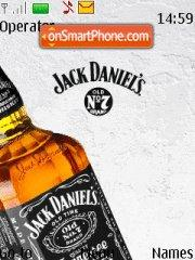 Скриншот темы Jack Daniels