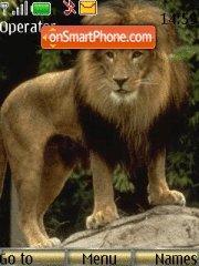 Lion tema screenshot