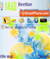 8 March 3250 theme screenshot