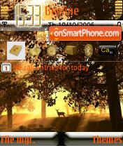 Yellow Sunshine theme screenshot