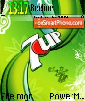 7up Design tema screenshot