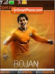 FC Barselona - Bojan Krkic theme screenshot