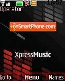 Nokia Xpress Music 03 tema screenshot