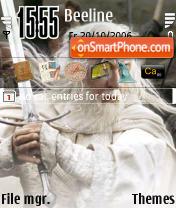 Gandalf The White theme screenshot