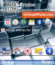 Скриншот темы 3dcube Desk