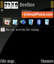 Nigerz in the Gold theme screenshot